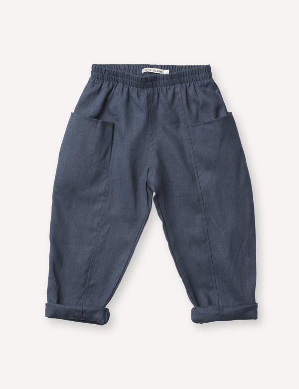 Kids Petits Vilains Maxence Pocket Pant - Navy