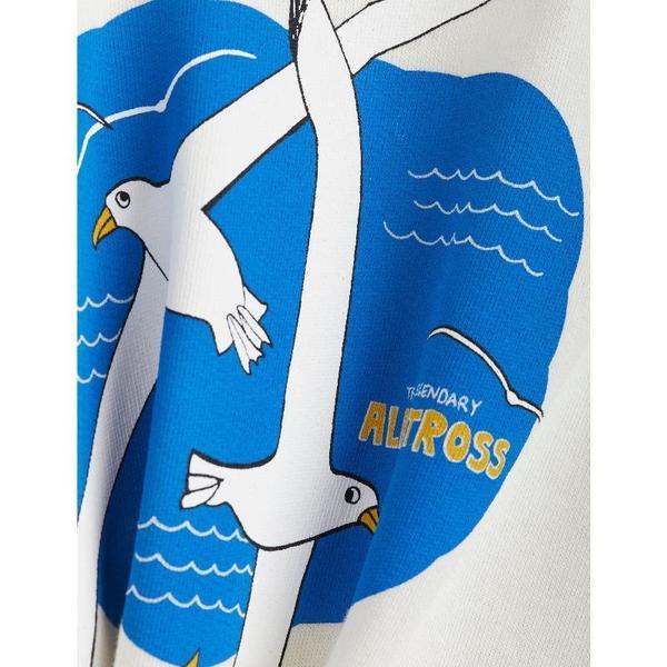 Kids mini rodini albatross sweatshirt - white