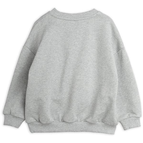 Kids mini rodini turtle sweatshirt - grey melange