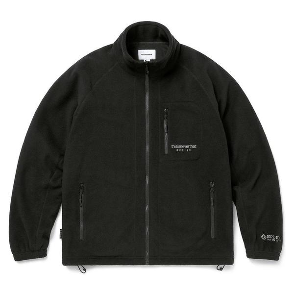 ThisIsNeverThat GORE-TEX INFINIUM Fleece Jacket - Black