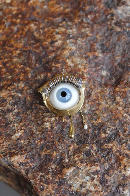 Beatriz Palacios Eye Brooch