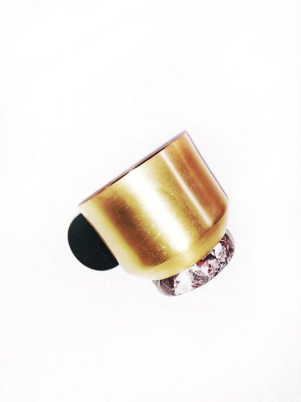 Natalia Criado Onix Coffee Cup - 18 carat gold