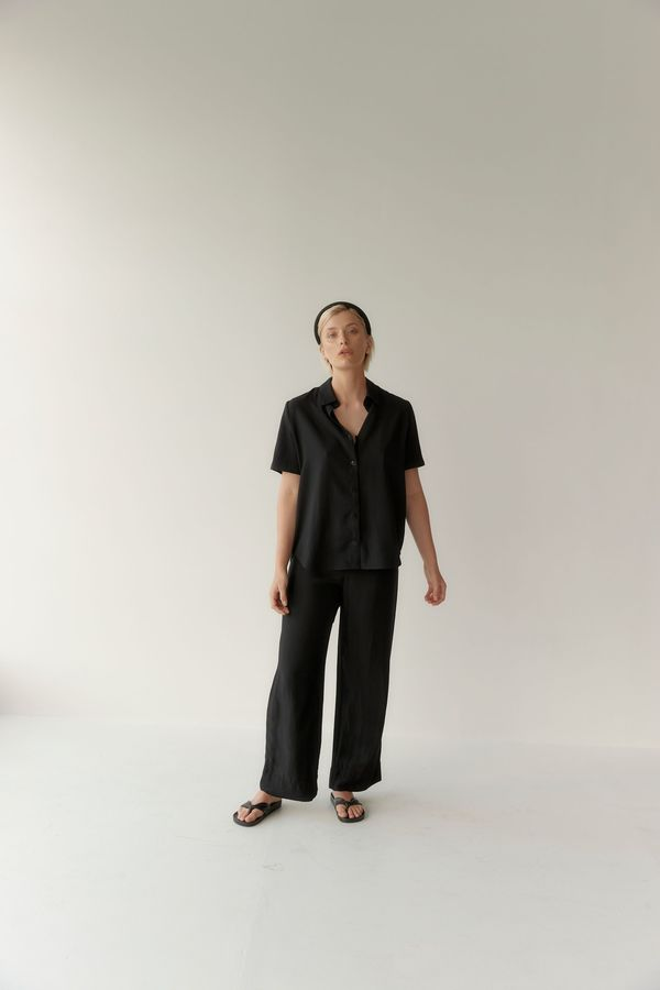 Mina Day Shirt - Black