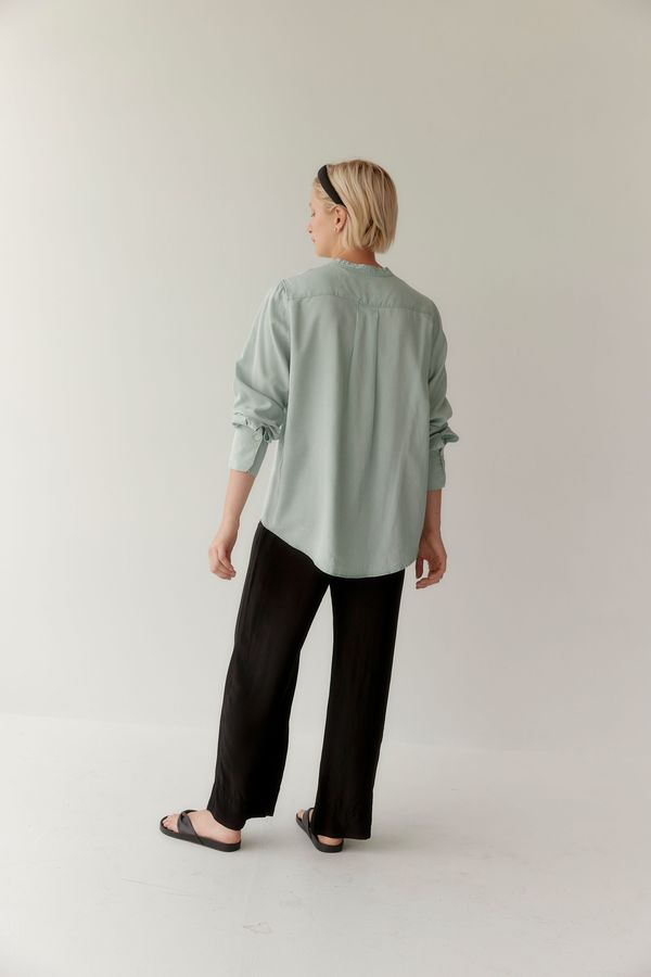 Mina Ease Shirt - Seafoam