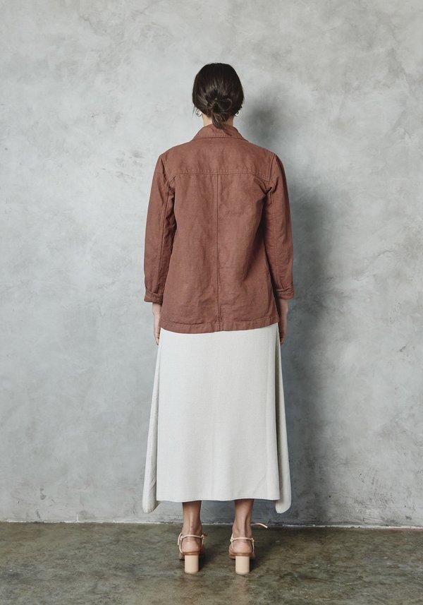 First Rite Linen Canvas Work Jacket