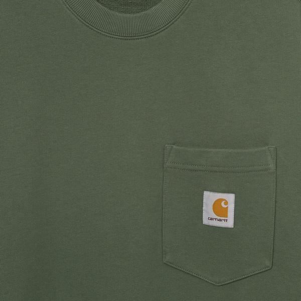 Carhartt Wip Pocket Sweat - Dollar Green