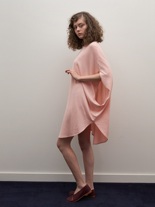 Cosmic Wonder Circular Dress, Natural Pink