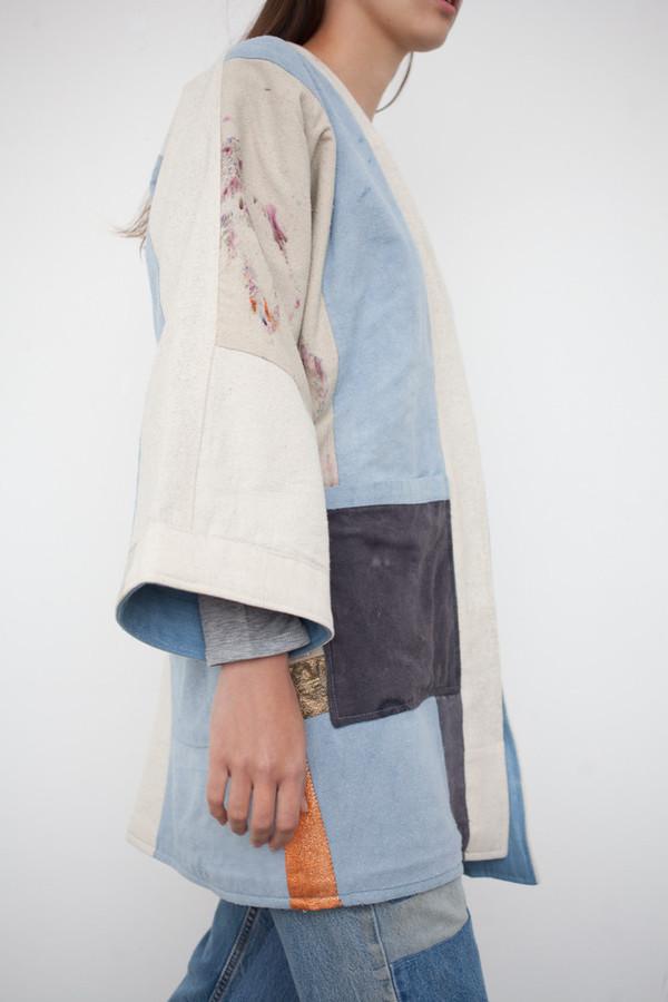 Jess Feury Patchwork Quilt Kimono Jacket | Garmentory : quilted kimono jacket - Adamdwight.com