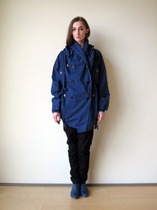 Unisex Kapital Cotton Twill Ring Coat
