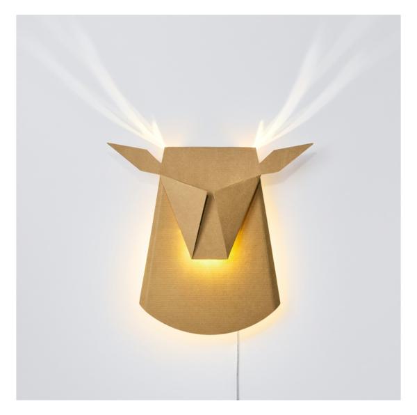 KIDS POPUP LIGHTING DIY Deer Head Light