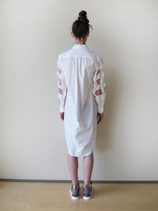 Nancy Stella Soto Cutout Shirtdress