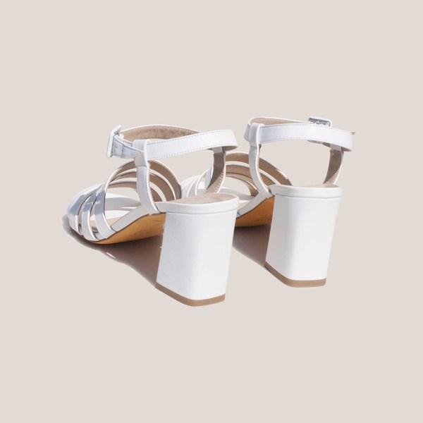 Maryam Nassir Zadeh Palma High Sandal - White