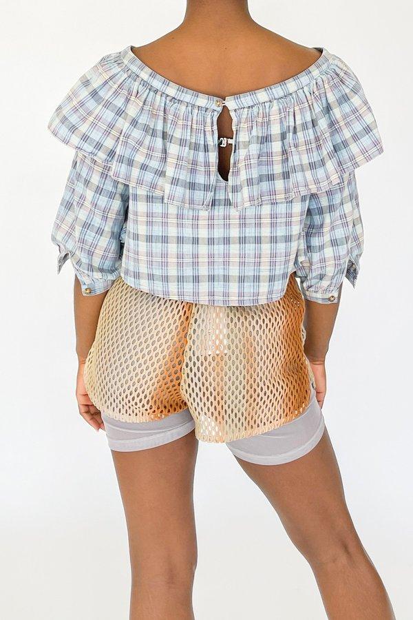Halo Labels Double Mesh Shorts
