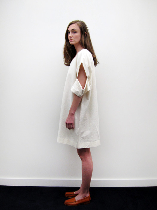 Nancy Stella Soto Dress with Cut Out and Layered Detail