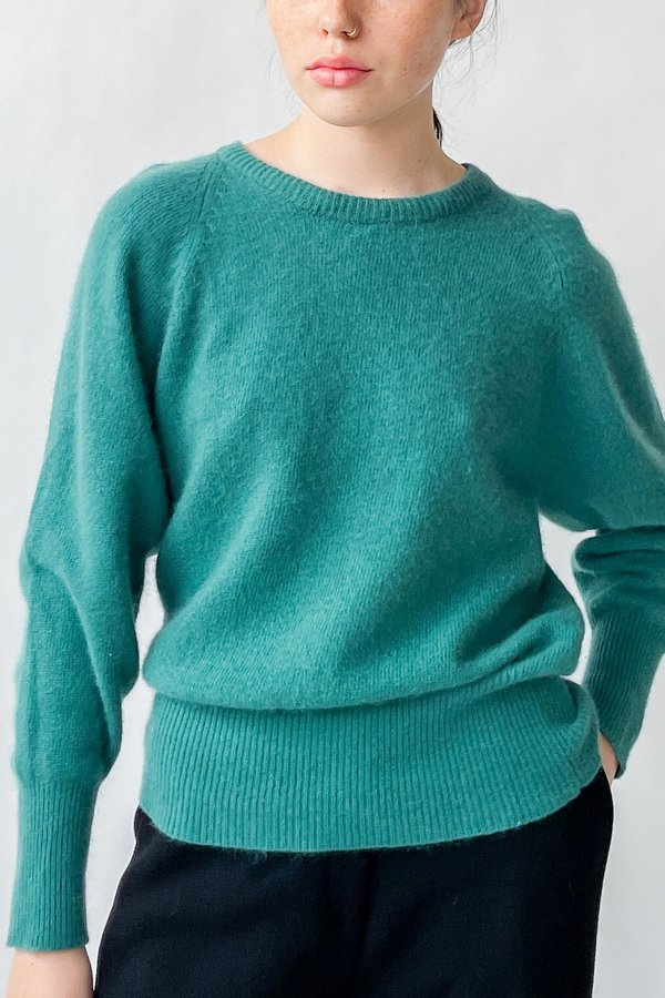 Vintage Lambswool Sweater - Teal