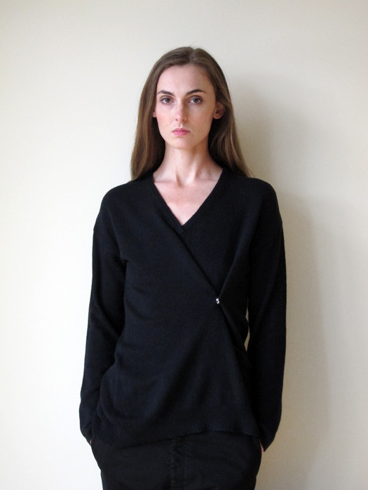 Ann-Sofie Back Drunk Knit Sweater, Cotton