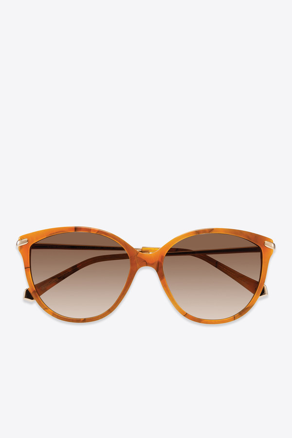 f811796518f4f Kate Young for Tura Barbara Sunglasses in Amber