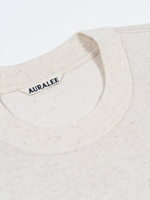 Auralee Stand-Up Tee - Natural