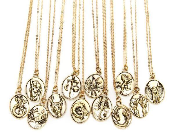 Talon Zodiac Pendant Necklace