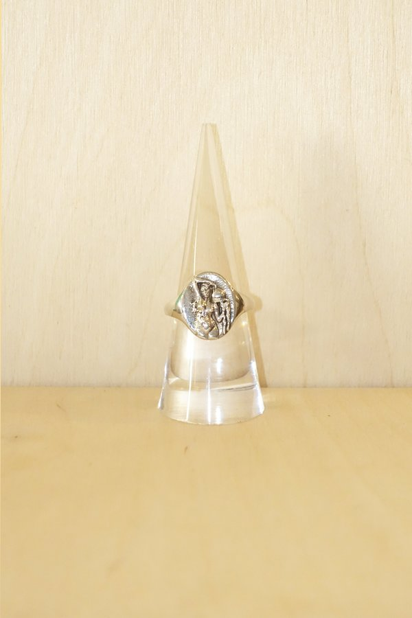 Talon Zodiac Signet Ring - Sterling Silver