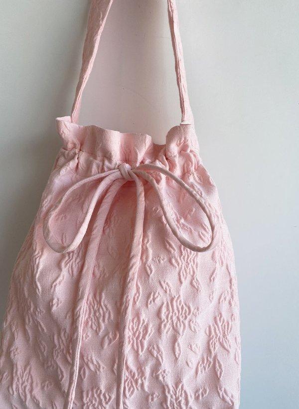 Pink Jacquard Mini Bunni Bag