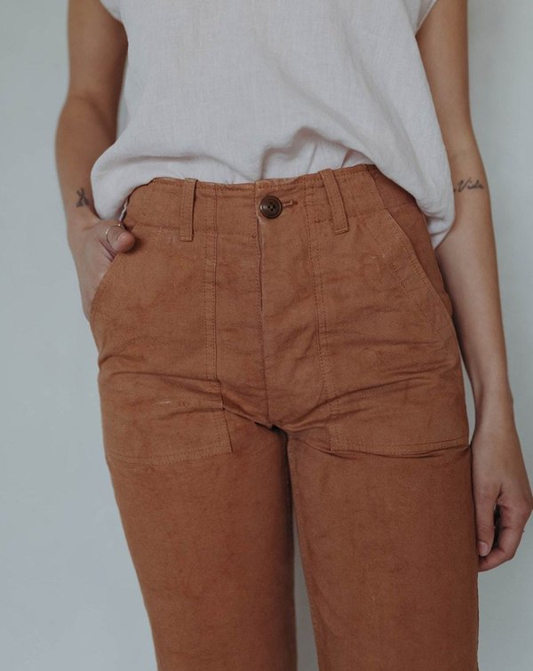 Esby Florence Pant - Rust