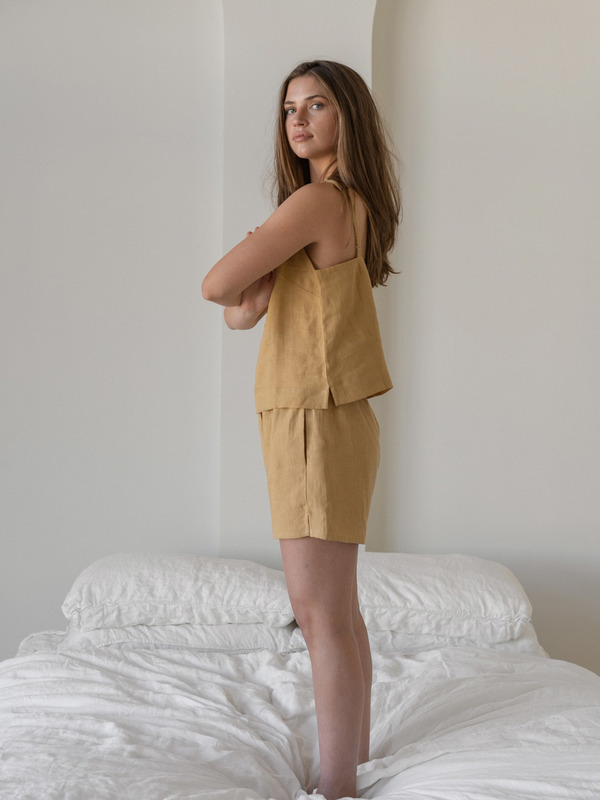 LAUDE the Label Amee Lounge Set - Turmeric