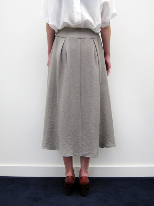 Suzanne Rae Inverted Pleat Skirt
