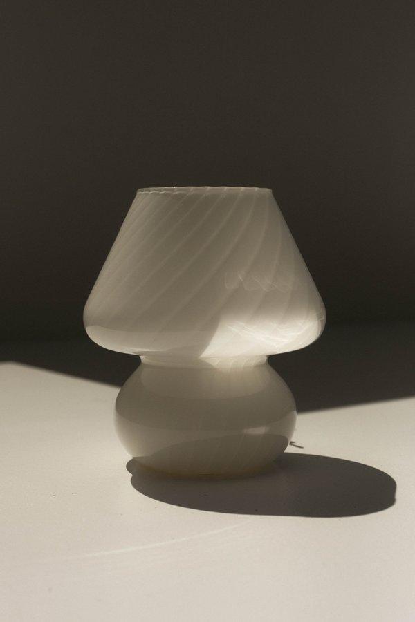 Vintage Small Murano Mushroom Lamp