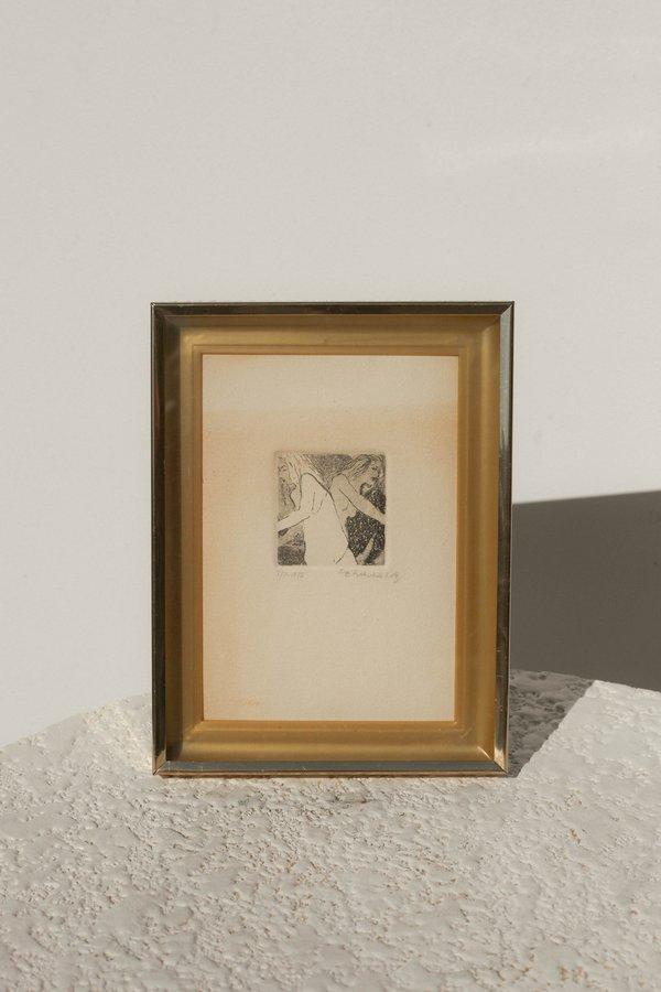 Vintage 1978 On The Move Framed Art