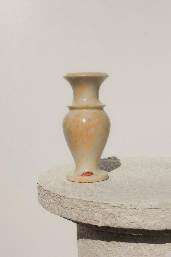 Vintage Solid Marble Vase