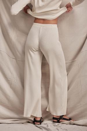 Lois Hazel Pillar Pant - Cream