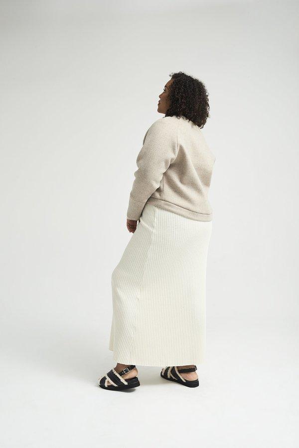Lois Hazel Pillar Jumper - Pebble