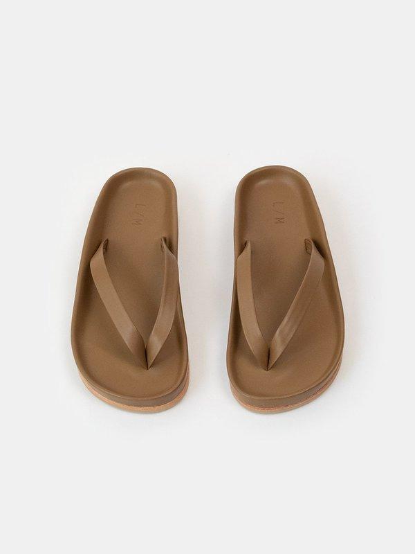 lauren manoogian zori sandal - loam