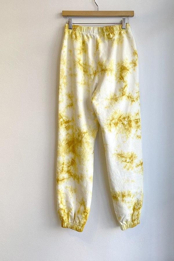 Clare V. Lips Sweatpants - Tie Dye Marigold
