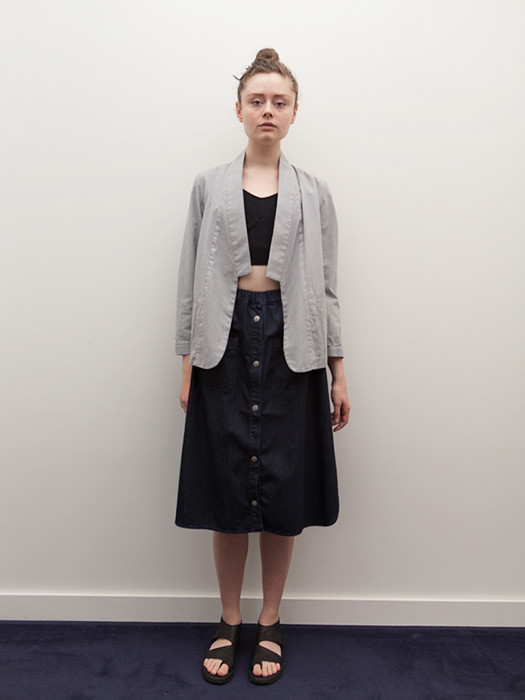 Cosmic Wonder Kimono Jacket, Heather Grey
