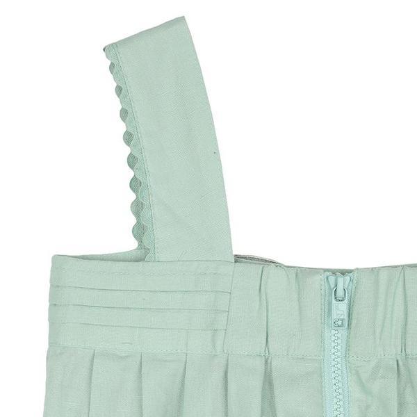 Kids Stella McCartney Jumpsuit With Butterfly Applique - Mint Green
