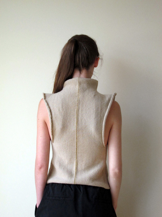 Eckhaus Latta Knit Wool Top