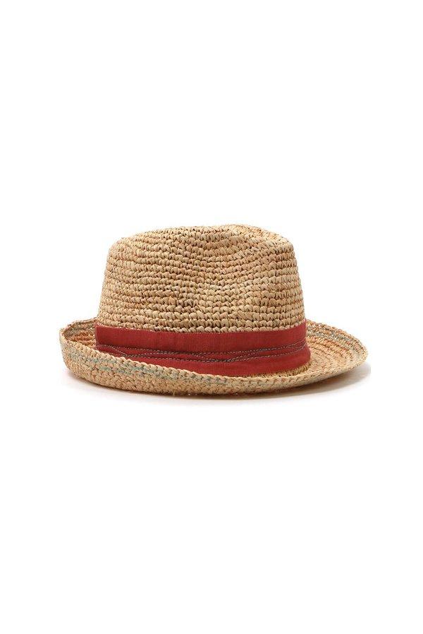 Lola Tarboush Hat - Terracotta