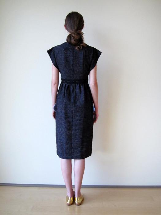 Cosmic Wonder Kurume-Kasuri Jinbei Dress
