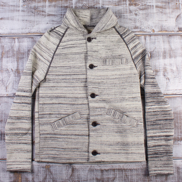 82459e9f1d59 Dehen 1920 Sweater Jacket - Off White Charcoal. sold out. Dehen 1920