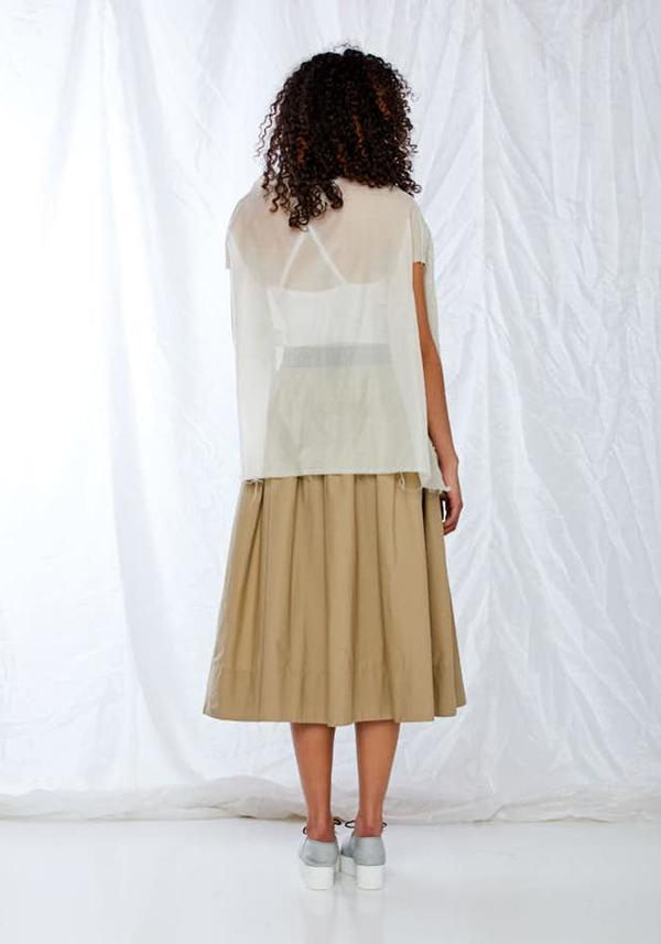 Nuovo Borgo Bold Cotton Skirt