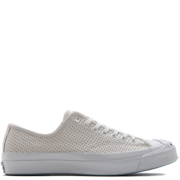 3eb00537d3ac CONVERSE JACK PURCELL SIGNATURE PERFORATED GOAT LEATHER OX - WHITE. sold  out. Converse