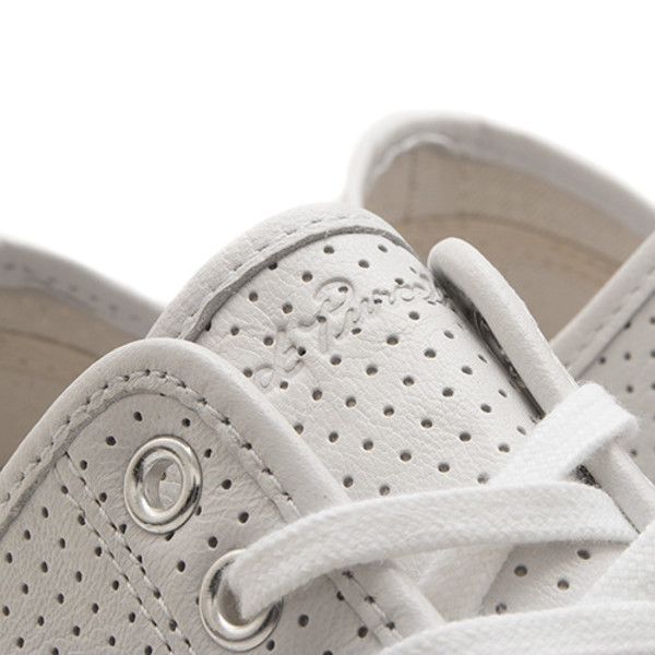1b505d774127 CONVERSE JACK PURCELL SIGNATURE PERFORATED GOAT LEATHER OX - WHITE. sold  out. Converse