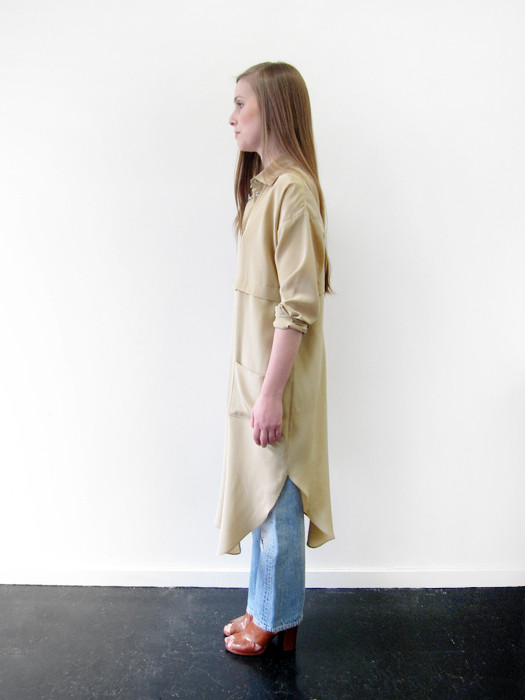 Suzanne Rae Long Shirt Dress