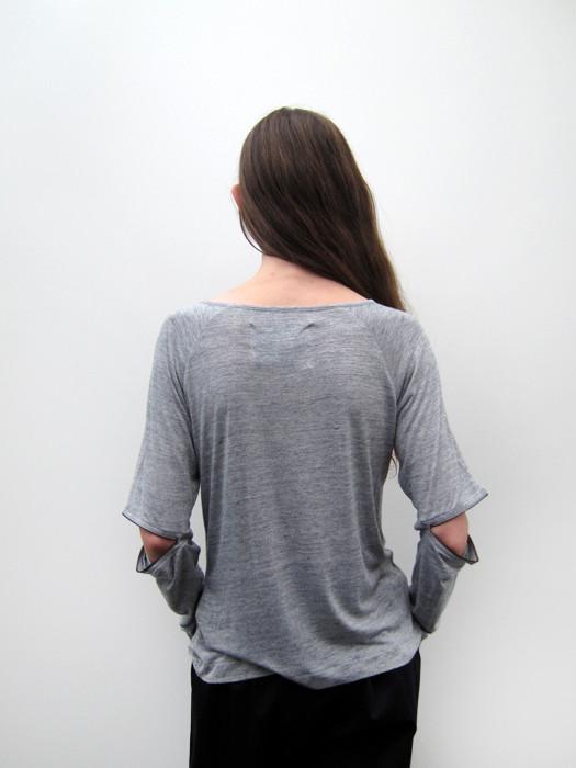 Ann-Sofie Back Long Sleeve Zip Top
