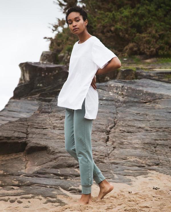 beaumont organic Zadie Trousers - green