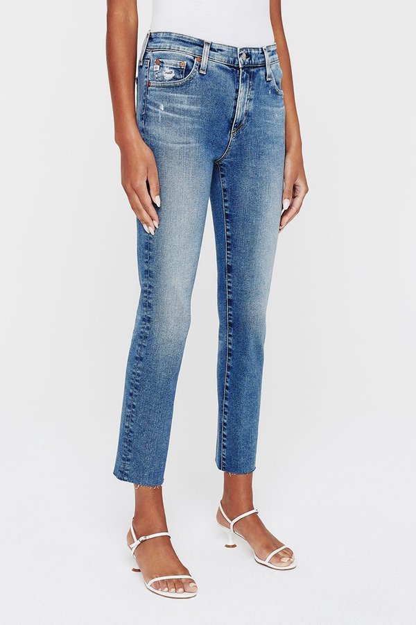 AG Mari Cropped Jeans - 17 Years Cold Water
