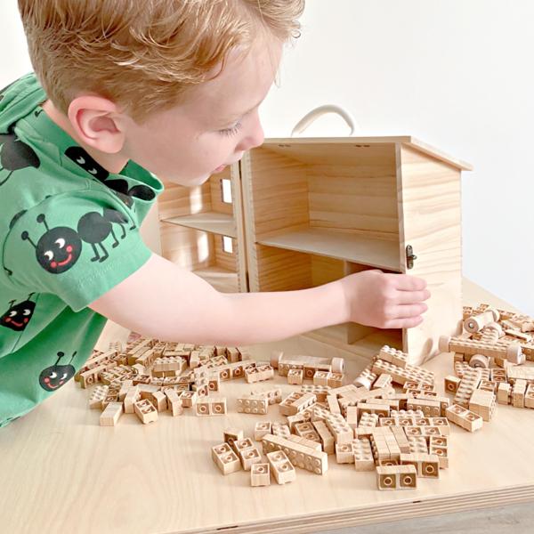 kids Once Kids Bamboo Eco-Bricks toy
