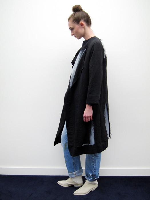 Nancy Stella Soto Organza Cut Coat